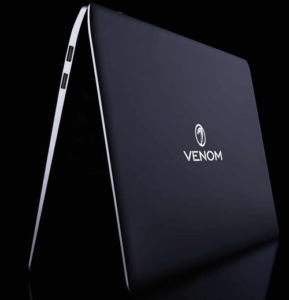Venom BlackBook Zero 14 Laptop Design