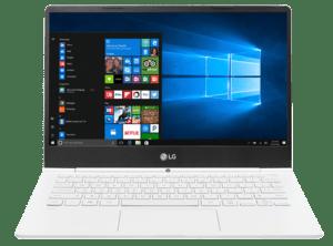 LG Gram Laptop 13 White