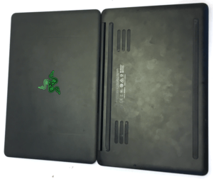 Razer Blade Laptop Top and Bottom