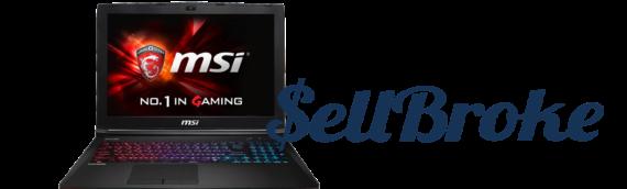 MSI GE62 VR GTX1060 Gaming Laptop