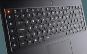 Gigabyte Aero 14 laptop Keyboard