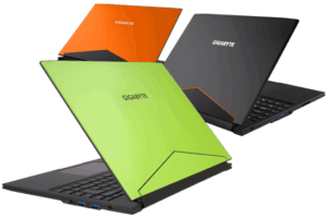 Gigabyte Aero 14 laptop Colors