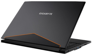 Gigabyte Aero 14 Laptop Back Graphite