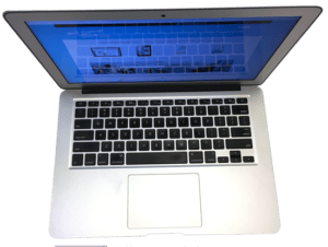 Macbook Air Laptop From Above