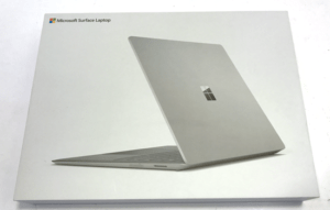 Microsoft Surface Laptop Retail Box
