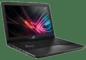Asus ROG STRIX GL703 Laptop Left Angle