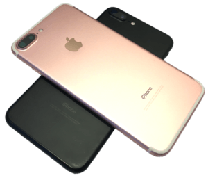 iphone 7 plus rose black