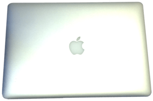 MacBook Pro Lid and Apple Logo