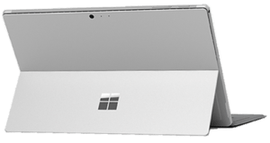 2017 microsoft Surface Pro Tablet Back