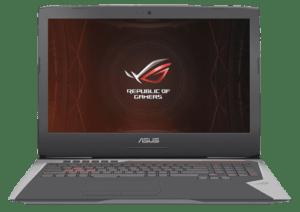 Asus G752 Laptop Front