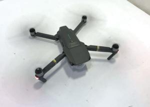 DJI Mavic Pro Drone Running