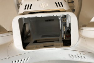 DJI Phantom 3 Drone Battery Bay