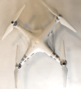 DJI Phantom 3 Drone From Above