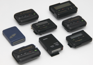 pagers and beepers