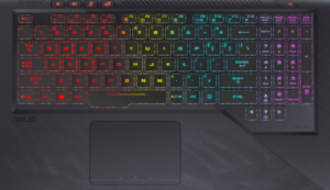 Asus GL503 Hero Laptop Keyboard and Trackpad