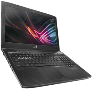 Asus GL503 Hero Laptop Left Angle