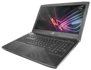 Asus GL503 Hero Laptop Right Angle