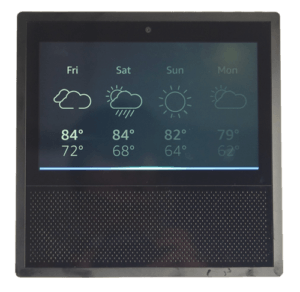 Echo Show Front