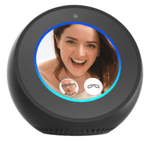 Echo Spot Display