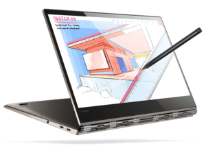 Lenovo Yoga 920 Laptop With Pen