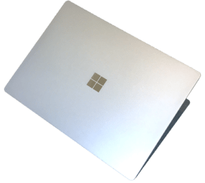Microsoft Surface Laptop From Above