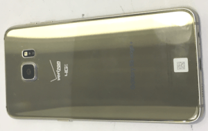 Samsung Galaxy S6 Edge Phone Back