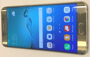 Samsung Galaxy S6 Edge Phone Display