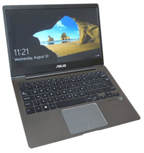 Asus UX331 Laptop Left Angle