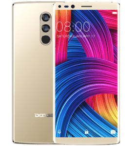 Doogee Mix 2 Phone Front and Back