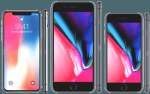 iPhones Compared