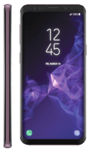 Samsung Galaxy S9 Phone Front