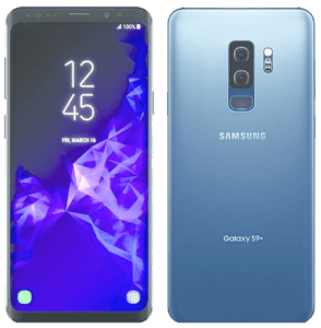 Samsung Galaxy S9 Phone Front and Back