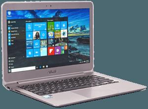 Asus Zenbook UX306 Laptop Left Angle