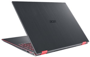 Acer Nitro 5 Spin Laptop Back