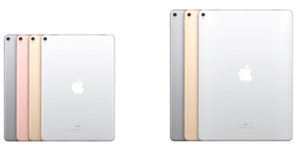 iPad Pro sizes