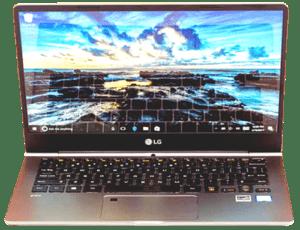 LG Gram Laptop 2018 Front
