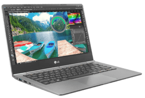 LG Gram Laptop 2018 Left Angle
