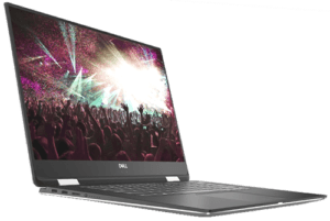 Dell XPS 15 2-in-1 Laptop Left Angle