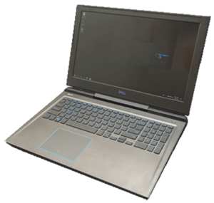 Dell G7 Laptop Right Angle