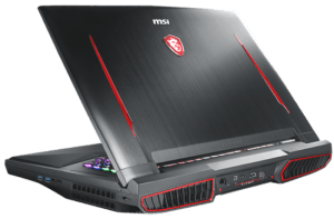 MSI GT75 Laptop Cooling Vents