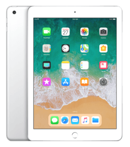 iPad 6th Generation Silver