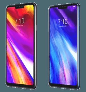 LG G7 Phone Angle