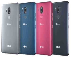 LG G7 Phone Colors