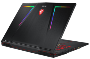 MSI GE73 Laptop Back
