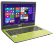 Asus lime green laptop