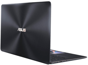 Asus Zenbook Pro UX580 Laptop Back