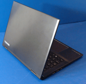 Toshiba Radius 12 Laptop Back