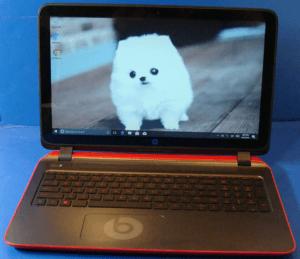 HP 15 Beats Laptop Front