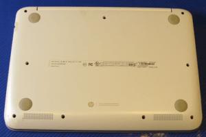 HP Stream 11 X360 Laptop Bottom