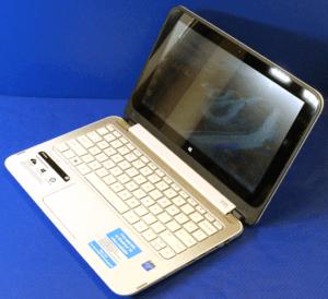 HP Stream 11 X360 Laptop Right Angle